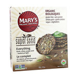 Crackers, Everything, Marys Organic 155g