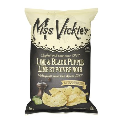 Miss Vickys - Lime Black Pepper 220g