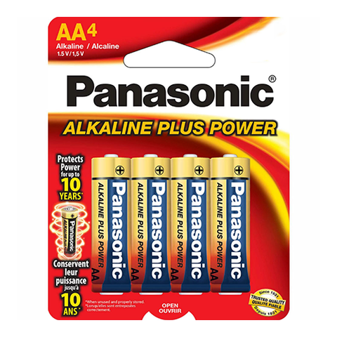 Panasonic 4AA Batteries