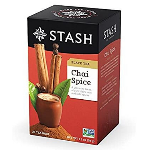 Black Tea, Chai Spice, Stash, 20 units
