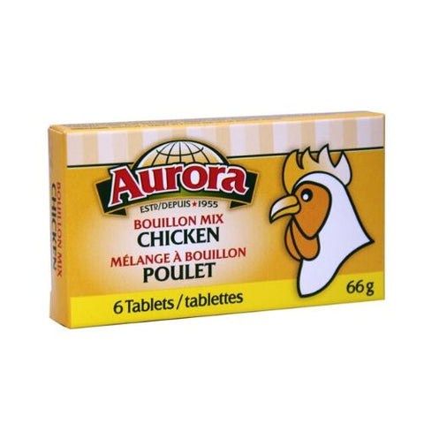 Bouillon Mix, Chicken, Aurora 6 Tablets