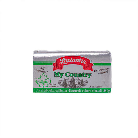 Butter, Non Salted, Lactancia, 250g