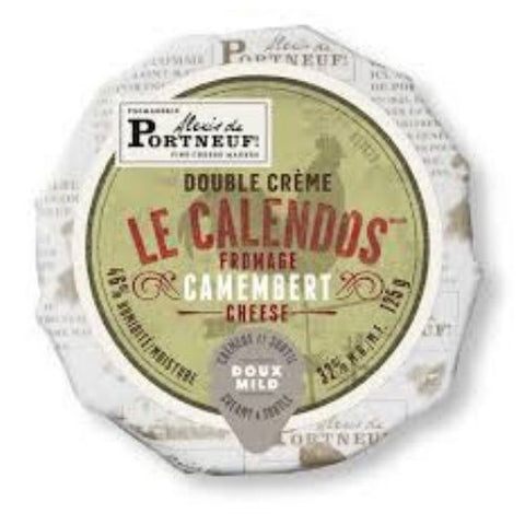 Camembert Double Cream Cheese, Le Calendos, 125g