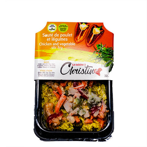 Chicken And Vegetables Stir Fry, Christine, 325g