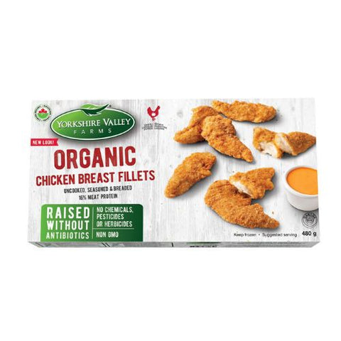 Chicken Breast Fillets, Yorkshire Valley Farm, 480g