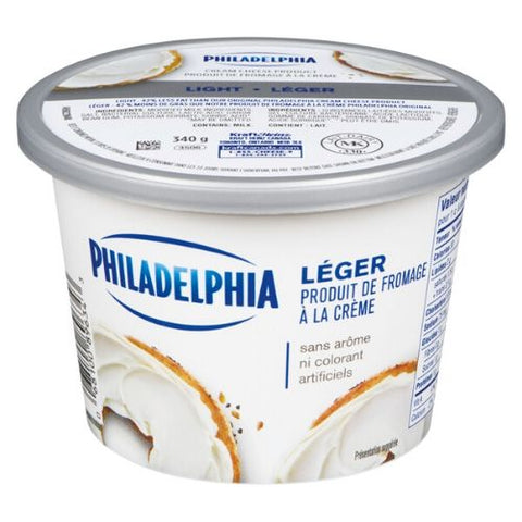 Cream Cheese, Light, Philadelphia, 340g