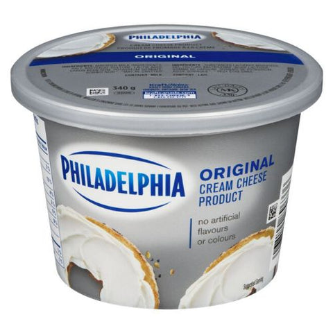 Cream Cheese, Original, Philadelphia, 340g