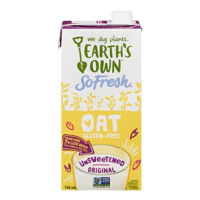 Earths Own OAT Unsweetened