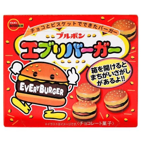 Everyburger, Chocolate Filled Cookies, Bourbon, 66g