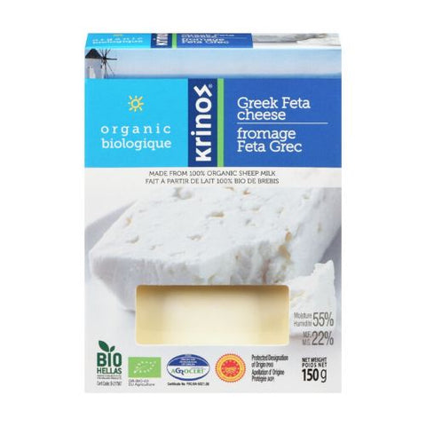 Greek feta krinos 150g