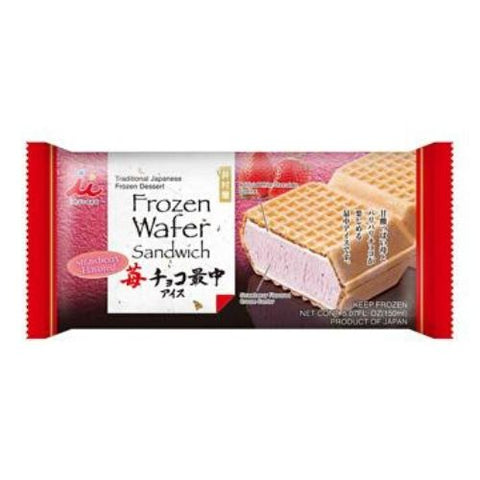 Frozen Wafer Sandwich, Strawberry, Imuraya, 150ml