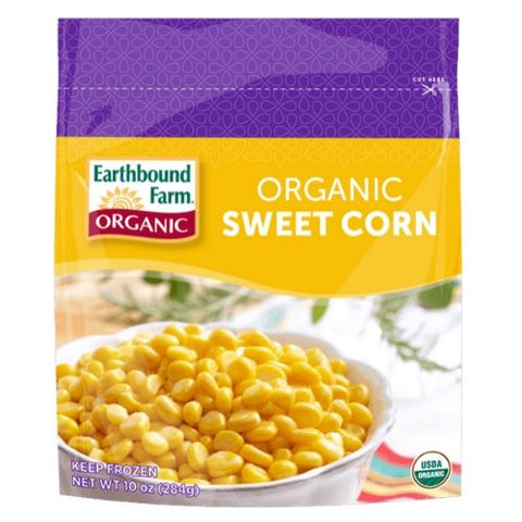 Frozen Whole Kernel Sweet Corn, Earthbound Farm, 350g