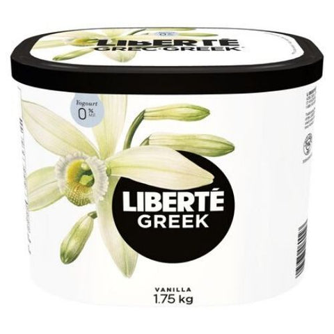 Greek Yogurt, Vanilla 0%, Liberté 1.75kg