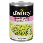Green Flageolets, D'Aucy, 398ml