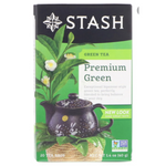 Green Tea, Premium Green, Stash, 20 units