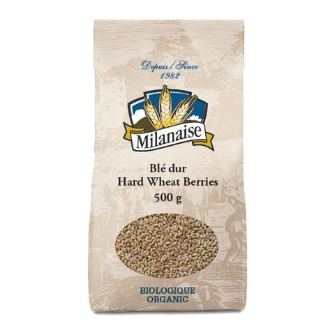 Hard Wheat Berries, Milanaise, 500g