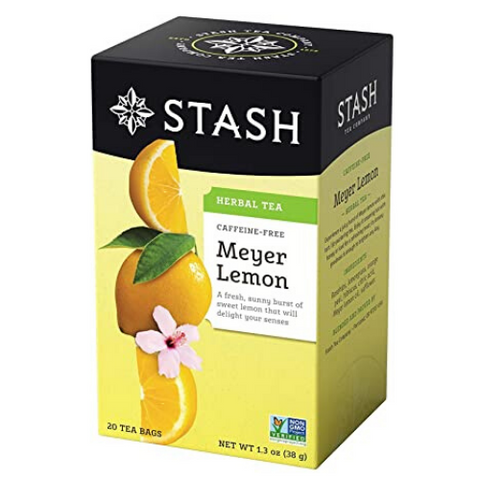 Herbal Tea, Meyer Lemon, Stash, 20 units