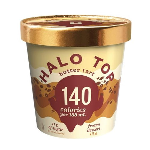 Ice Cream, Birthday Cake, Halo Top, 473g