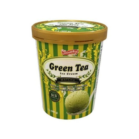 Ice Cream, Green Tea, Shirakiku 1L