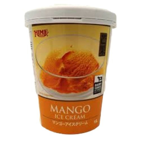 Ice Cream, Mango, Hime, 1L