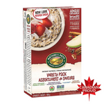 Instant Oatmeal, Variety Pack, Organic, Nature's Path, 400g
