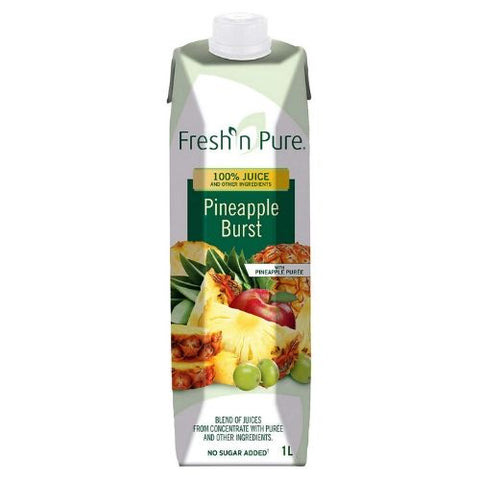 Juice, Pineapple Burst, Fresh N' Pure, 1L