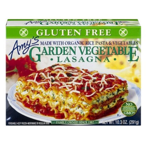 Lasagna, Vegetables, Amy's, 255g