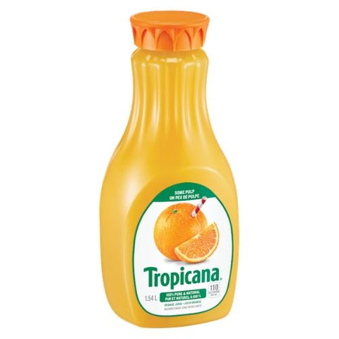 Orange Juice, Some Pulp, Tropicana, 1.54L