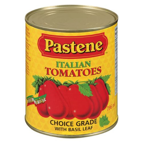 Italian Tomato with Basil, Peeled, Pastene 398ml