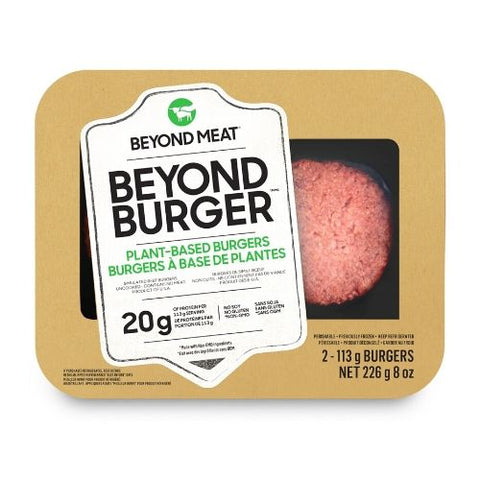 Plant-Based Burgers, Beyond Meat, 226g