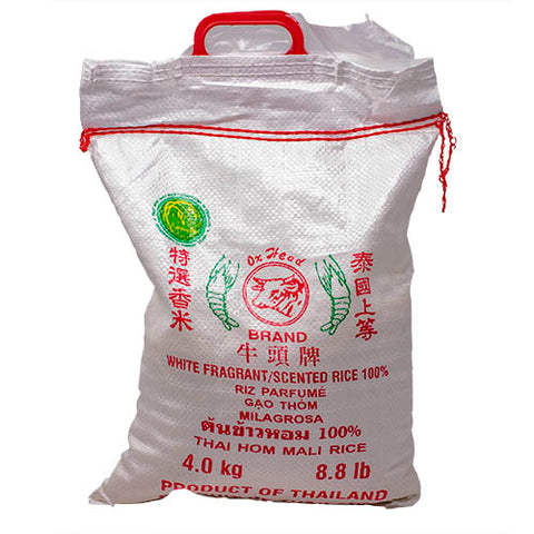 Rice, White Fragrant, Ox Head, 4kg