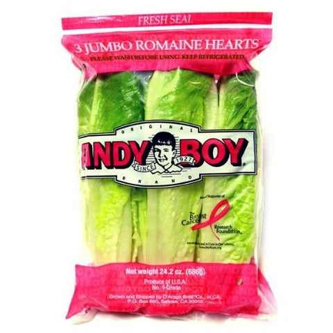 Romaine Hearts, Andyboy, 3 units