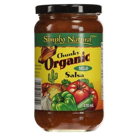 Salsa, Mild, Chunky, Simply Natural, 470ml