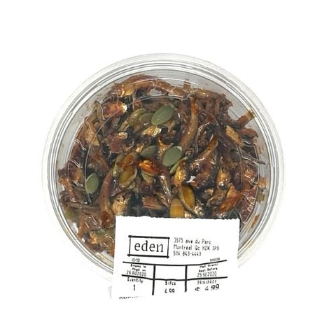 Seasoned Dried Anchovies, Eden Market, 150g