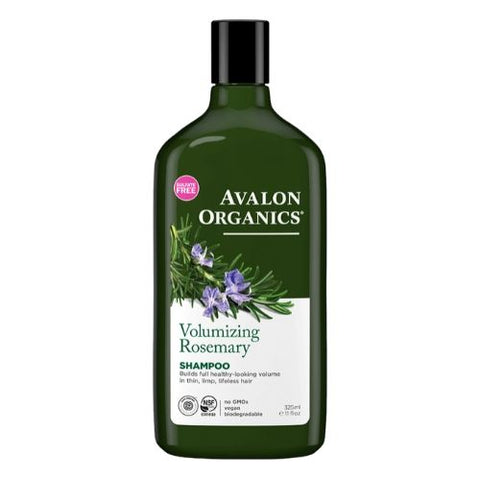 Shampoo, Rosemary, Avalon Organics 325ml