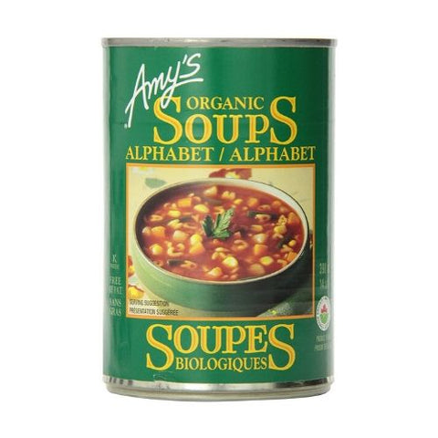 Soup, Alphabet, Organic, Amy's 398ml