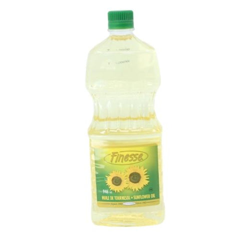 Sunflower Oil, Finesse, 946ml