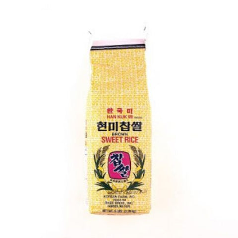 Sweet Brown Rice, Han Kuk Mi, 2.26kg