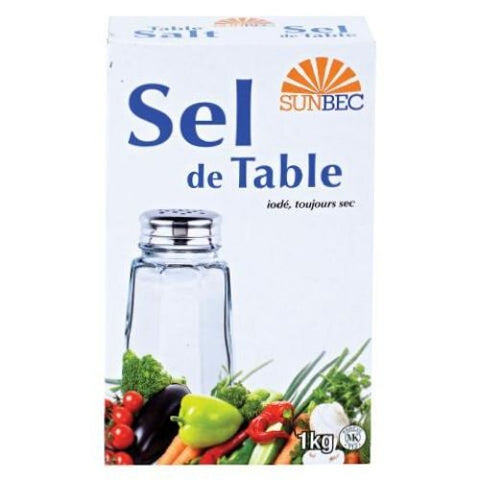 Table Salt, Sunbec 1kg