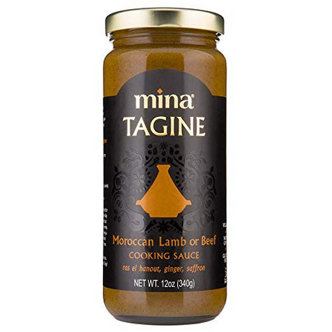 Tagine Sauce, Moroccan-Style Lamb or Beef, Mina, 327ml