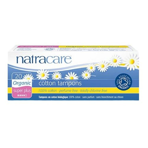 Tampons, Super Plus, Natracare 20 Units
