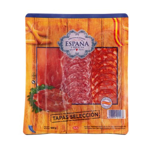 Tapas Selection, España, 100g