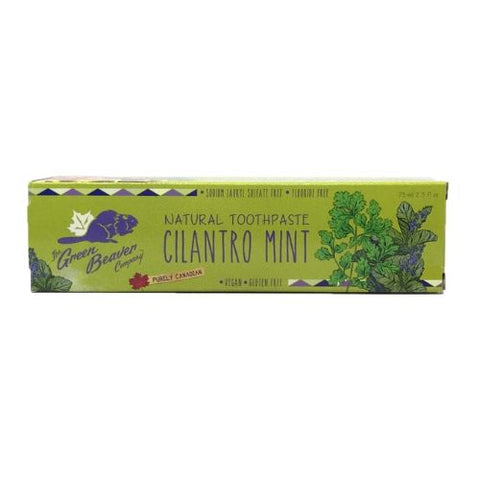 Toothpaste, Cilantro Mint, Green Beaver 75ml