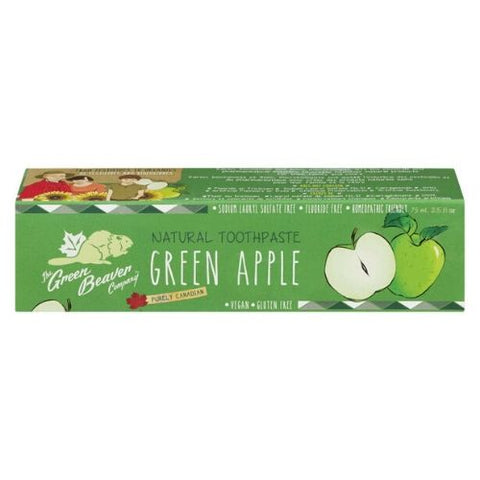 Toothpaste, Green Apple, Green Beaver 75ml