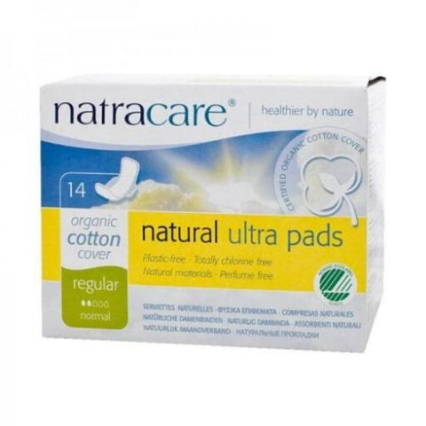 Ultra Pads, Regular, Natracare 14 Units