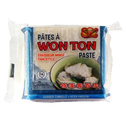 Wonton Thin Paste, Wings, 400g