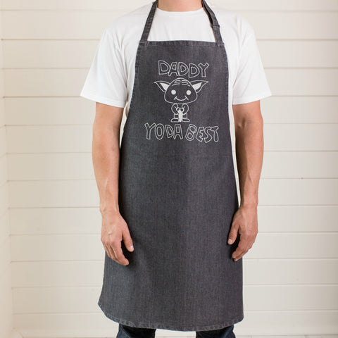 Yoda the best apron for Father's Day