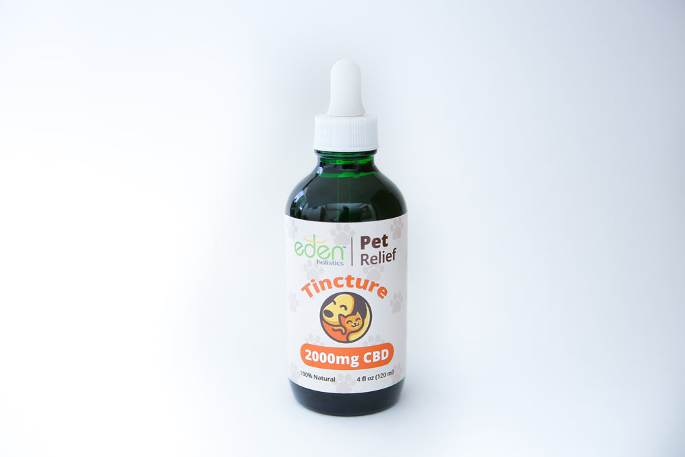 Load image into Gallery viewer, 4oz (LARGE)- 2000mg CBD Pet Tincture