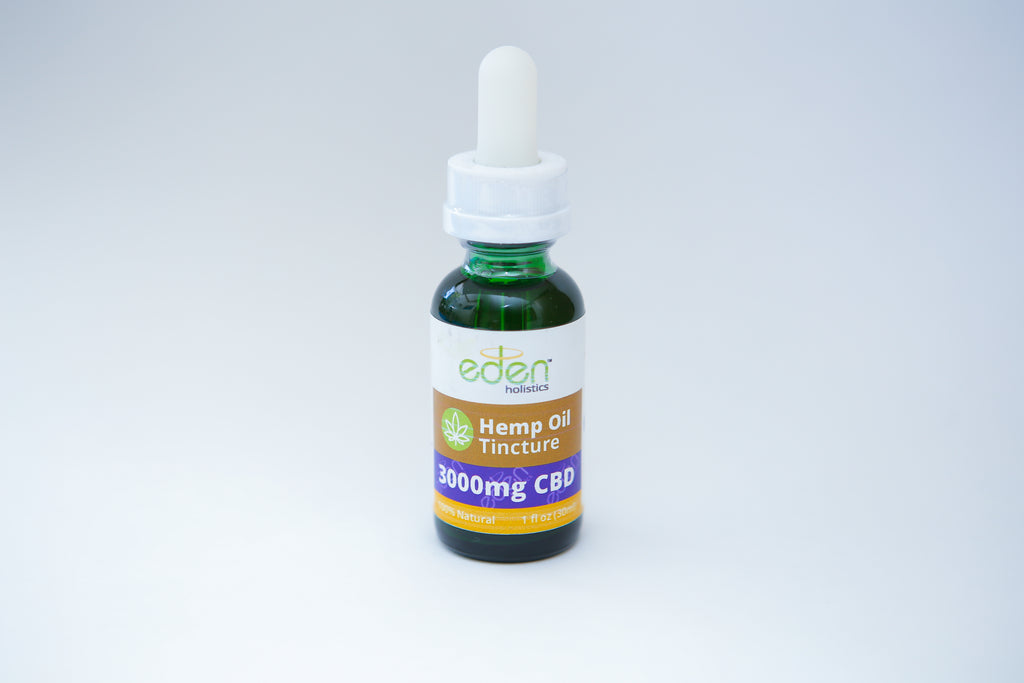 1oz - 3000mg Hemp Oil CBD Tincture