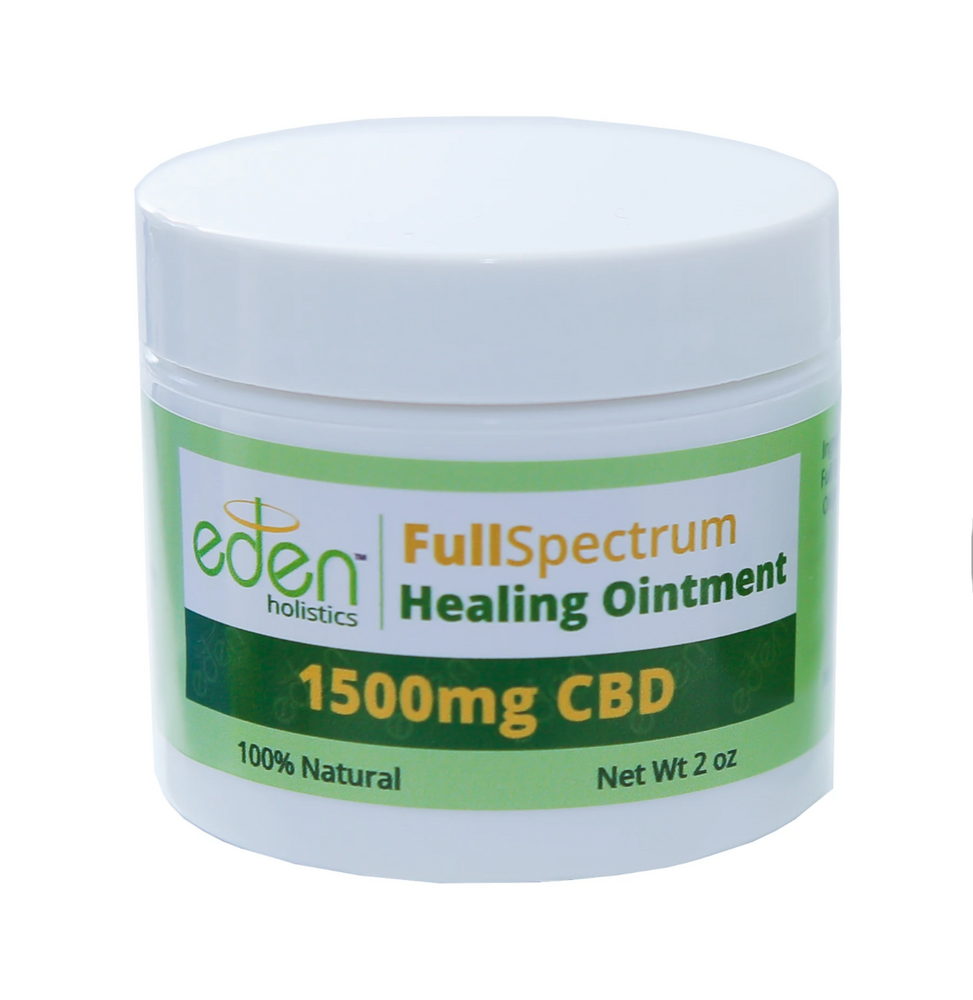 2oz - 1500mg Full Spectrum CBD Healing Ointment